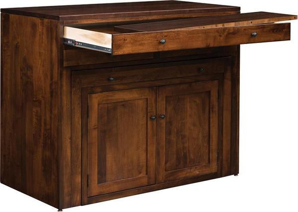 buy popular 79ef1 2237a Amish Century Buffet with Pullout Dining Table