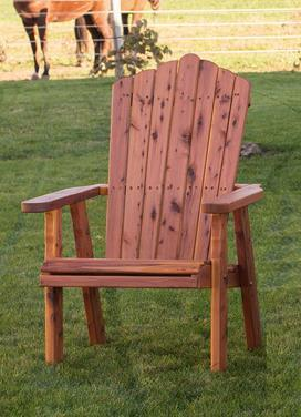 Amish Outdoor Furniture Cedar Adirondack Chair