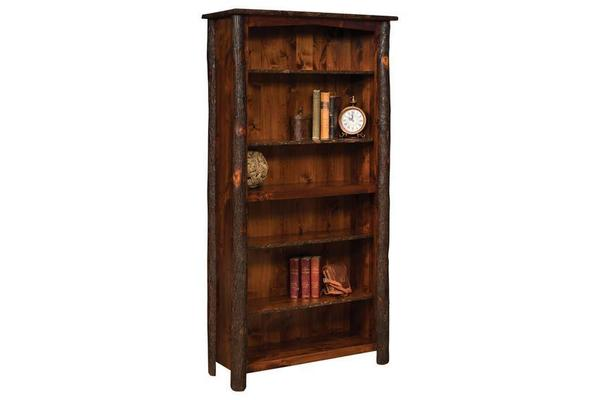 "Amish Bearlodge Bookcase - 72"" Height"
