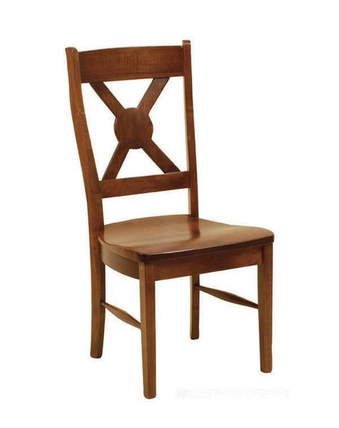 Amish White River Dining Chair