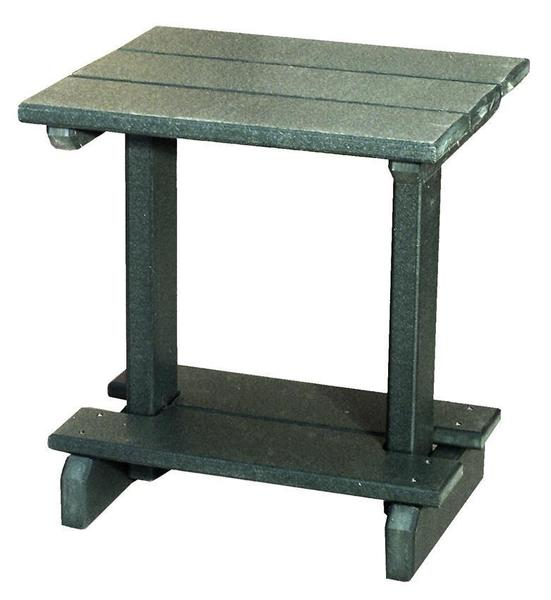 """Amish 17"""" x 20"""" Poly End Table"""