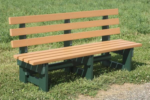 Pleasing 6 Poly Commercial Park Bench Evergreenethics Interior Chair Design Evergreenethicsorg