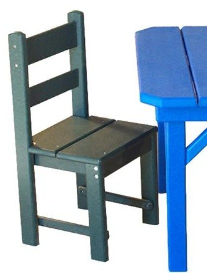 Amish Seaside Child Size Economy Poly Composite Chair
