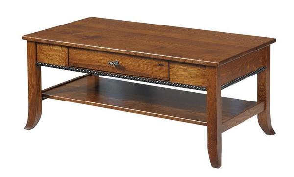 Amish Cranberry Coffee Table
