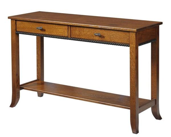 Amish Cranberry Hall Table