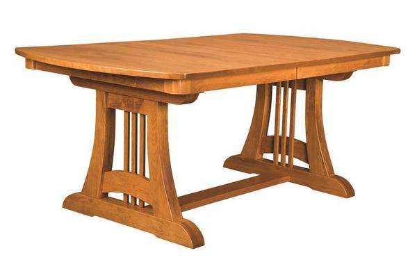 Amish Sedona Trestle Dining Table