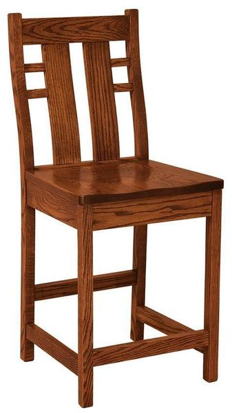 Amish Mission Cascade Bar Stool