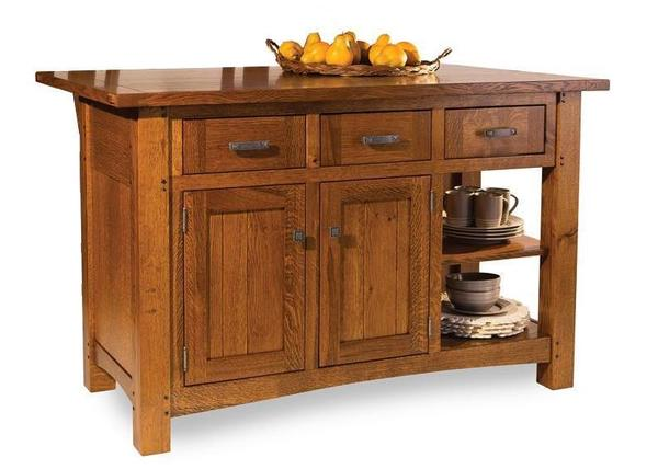 Amish Brunswick Kitchen Island