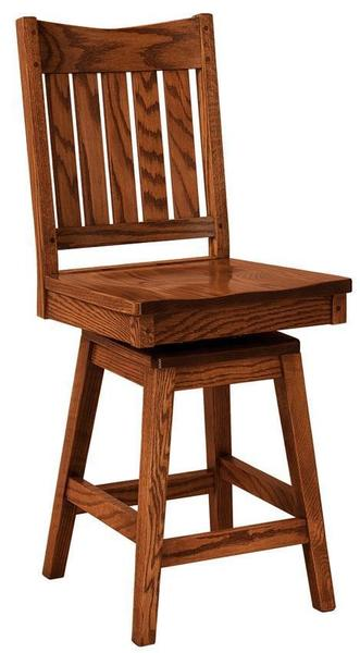 Amish Mission Colbran Swivel Bar Stool