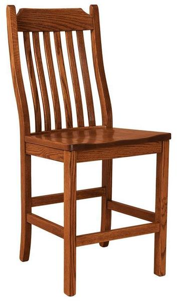 Amish Franklin Mission Bar Stool