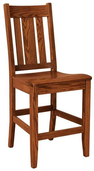 Amish Jacoby Mission Bar Stool
