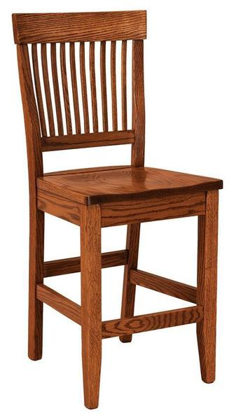 Amish Jefferson Bar Stool