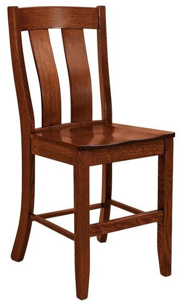 Amish Laurie Mission Bar Stool