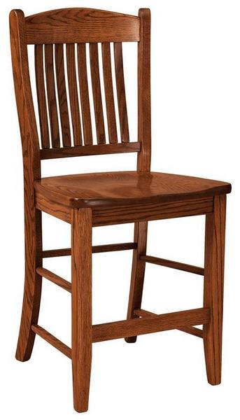 Amish Lyndon Bar Stool