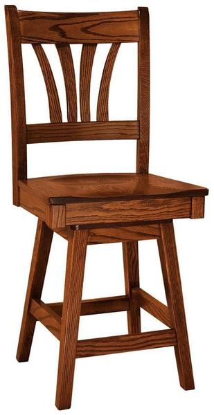 Amish McCohen Stool with Swivel