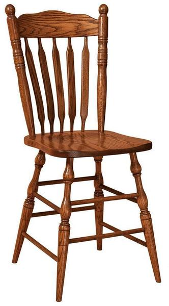 Amish Post Paddle Stool