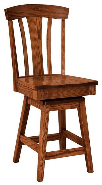 Amish Parkway Stool with Swivel