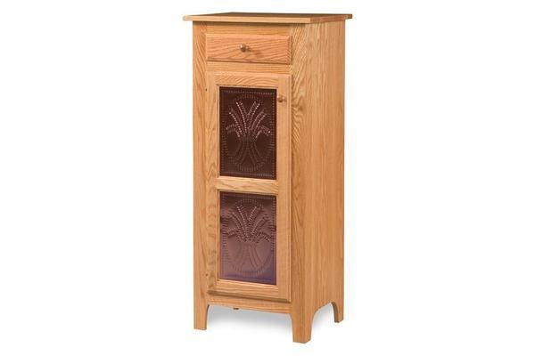 Amish Classic Pie Safe With Copper Panels