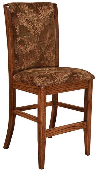 Amish Sherita Upholstered Bar Stool