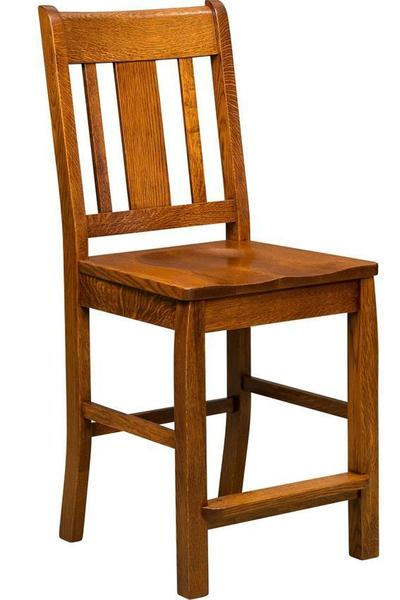 Amish Mission Brookville Bar Stool