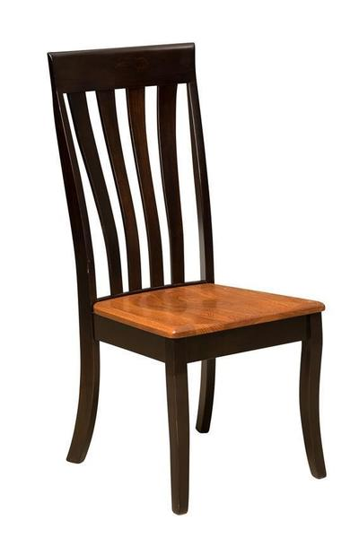 Amish Canterbury Dining Room Chair