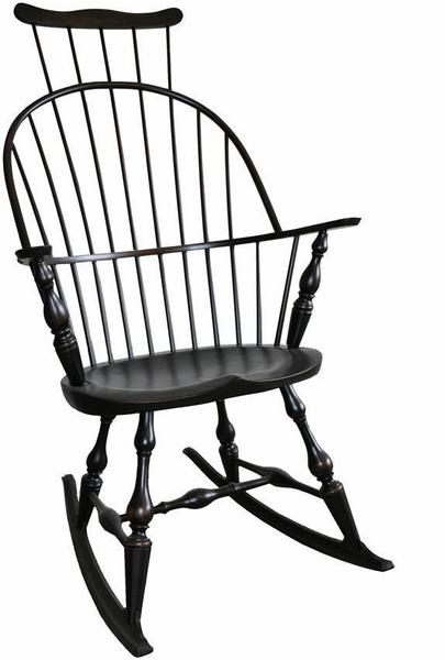 Amish Comb-back Windsor Arm Rocker