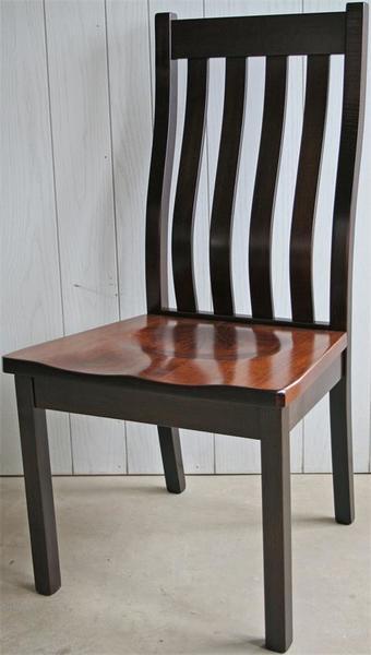 Amish Brockton Mission Dining Chair