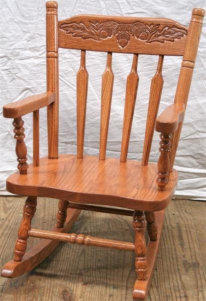 Amish Caledonia Kids' Rocking Chair