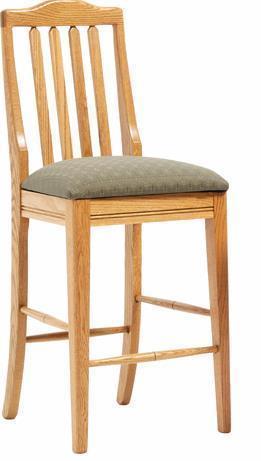 Amish Shaker Bar Chair