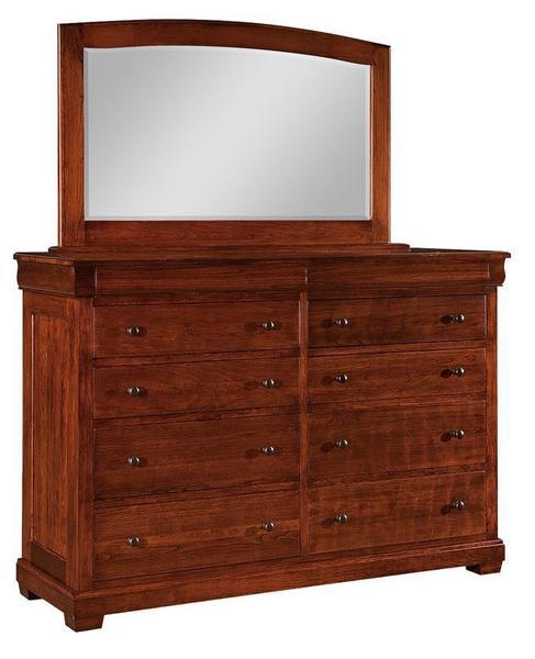 Amish Berlin Ten Drawer Dresser