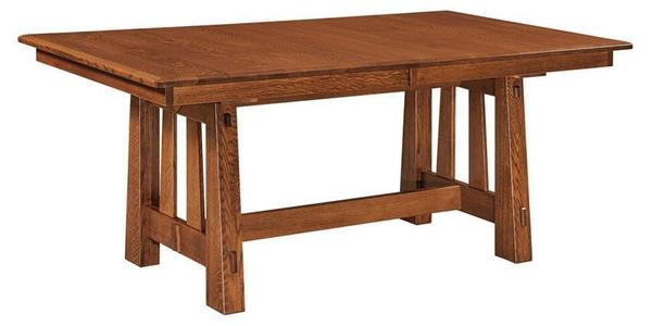 Amish Vera Trestle Table