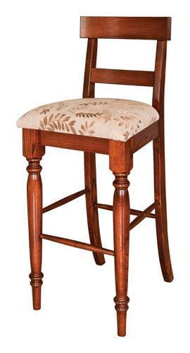 Amish Shreveport Bar Chair