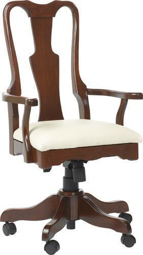 Amish Queen Anne Desk Chair