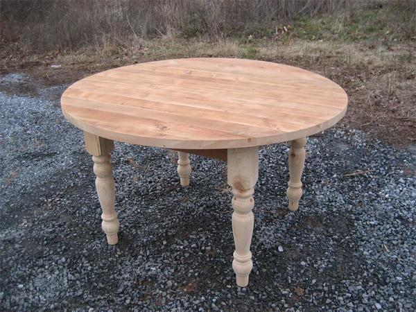 Amish Barn Wood Dining Table