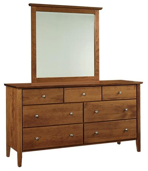 Amish Austin Seven Drawer Dresser
