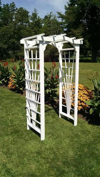 American Made Wedding Arbor