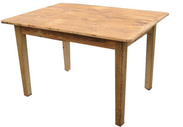 Amish Reclaimed Barn Wood Desk with Tapered Legs
