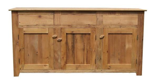 Amish Barn Wood Candies Farmhouse Buffet
