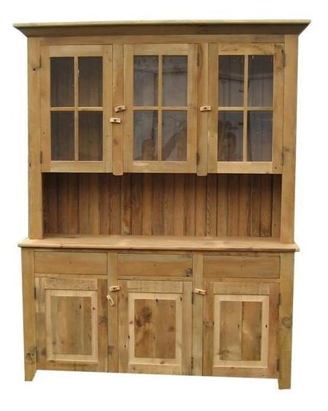 Amish Reclaimed Barn Wood Candies Hutch