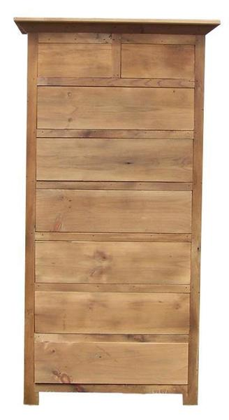Amish Barnwood Tall Chest of Drawers