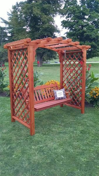 American Made Jamesport Outdoor Arbor