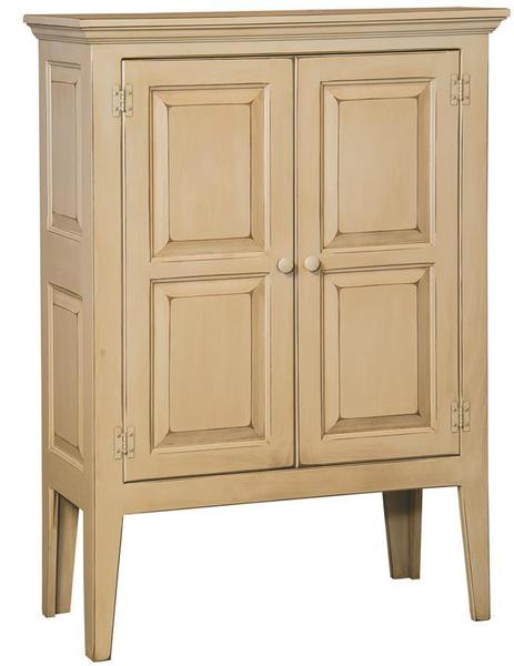 Amish Green River Pine Pie Safe with Wood Doors