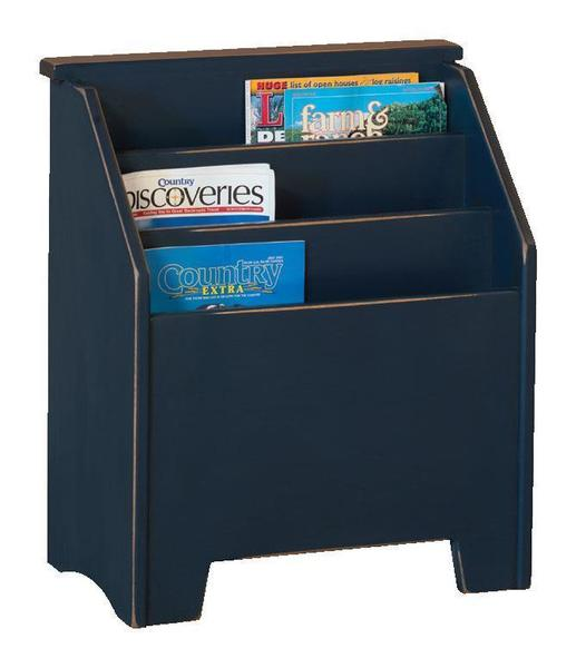 Amish Pine Magazine Rack