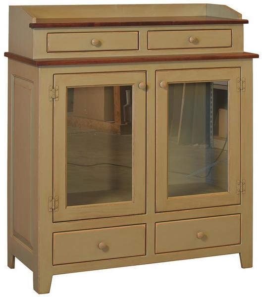 Amish Pine Wood Jefferson Dining Chest - Maple Top