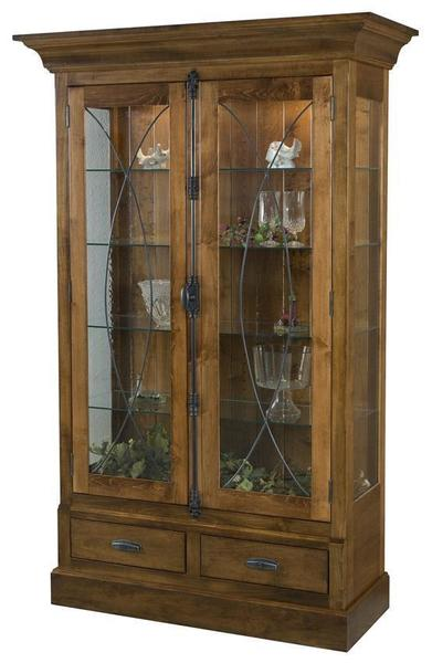 Amish Barstow Curio Cabinet
