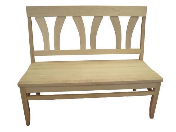 Amish Fanback Bench