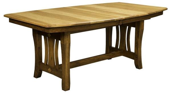 Amish Hearthside Trestle Dining Room Table