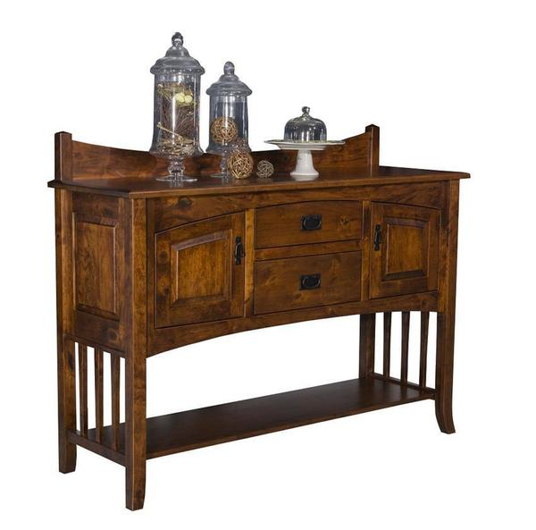 "Amish 60"" Cambria Mission Sideboard"
