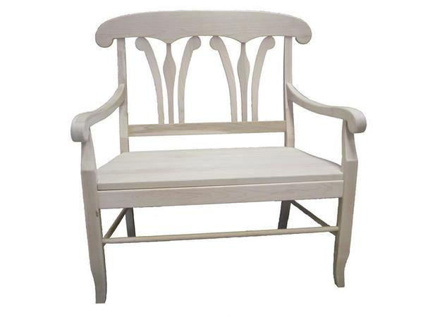 Amish Handcrafted French Provence Bench