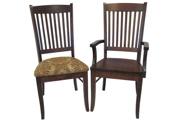 Amish Allegheny Dining Room Chair